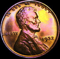 1932 LINCOLN CENT WHEAT CENT ---- GEM BU ---- B380