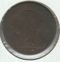 1807 ABOUT GOOD AG DRAPED BUST US HALF CENT 1/2C