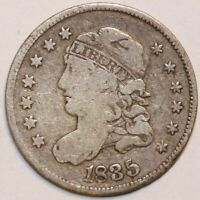 1835 CAPPED BUST HALF DIME - LARGE DATE        0063