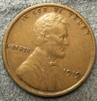 1919 P LINCOLN WHEAT CENT PENNY - HIGH GRADE  FREE SHIP. B570