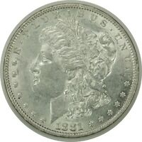 1881-P $1 MORGAN SILVER DOLLAR  AU CONDITION   070420
