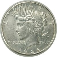 1926-S $1 PEACE SILVER DOLLAR 042620  EXTRA FINE  / AU  CONDITION  070420