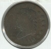 1810 ABOUT GOOD AG CLASSIC HEAD US LARGE CENT 1C