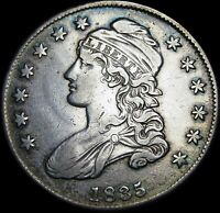 1836 CAPPED BUST HALF DOLLAR ---- STUNNING TYPE COIN   ----  C035