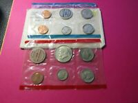 1970 UNCIRCULATED MINT SET W/ TONED KEY DATE 1970 D KENNEDY