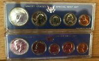 1966 AND 1967 SPECIAL MINT SETS SMS IN ORIGINAL BOXES