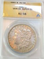 1887 MORGAN DOLLAR VAM-3A SUPER CD