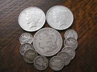 LOT  2 90  SILVER U.S. COINS READ MORE