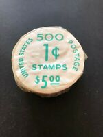 US SC.1811 UNOPENED COIL ROLL OF 500 IN ORIG.POST OFFICE PAC