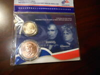 2009 WILLIAM H HARRISON PRESIDENTIAL $1 COIN & FIRST SPOUSE MEDAL