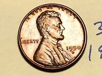 1950-D LINCOLN WHEAT CENT PENNY 1C 3215K