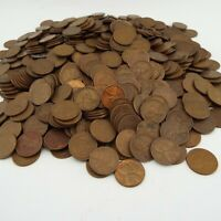400 COUNT WHEAT CENT LOT - DATES 1940'S - 1950'S