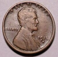 1916 D LINCOLN WHEAT CENT PENNY - NOT STOCK PHOTOS -- SHIPS FREE