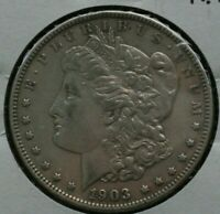 1903 MORGAN SILVER DOLLAR  EXTRA FINE  DETAILS   SEE SHIPPING SPECIAL BELOW