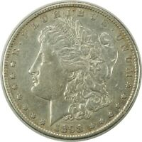 1898-S $1 MORGAN SILVER DOLLAR  AU CONDITION - BETTER DATE 091020