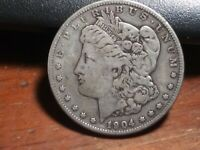 1904 S MORGAN SILVER DOLLAR HIGHLY SOUGHT AFTER