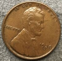 1938 D LINCOLN WHEAT CENT PENNY - HIGH GRADE  FREE SHIP. A520