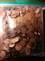 LOT OF 1,400 LINCOLN WHEAT CENTS -  1940'S & 1950'S