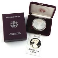 1986 US PROOF AMERICAN SILVER EAGLE  GOVERNMENT PACKAGE OGP PERFECT