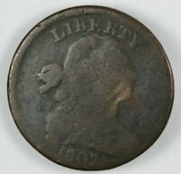 1807 DRAPED BUST LARGE CENT 1C