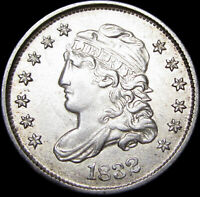 1832 CAPPED BUST HALF DIME TYPE COIN      STUNNING       D507