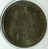 1889 DOUBLED DATE AND EAR, FAR DATE VAM-3A R-5 UNC MS MORGAN SILVER US DOLLAR $1