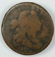 1802 DRAPED BUST LARGE CENT 1C