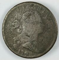 1798 DRAPED BUST LARGE CENT 1C