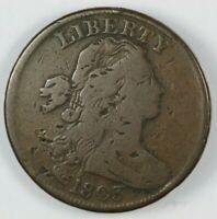 1803 DRAPED BUST LARGE CENT 1C