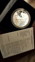 2003 AMERICAN SILVER EAGLE PROOF DOLLAR US MINT ASE COIN WITH BOX AND COA