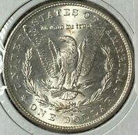 1890 S/S DOUBLED EAR, DIE BREAK ON WINGS VAM-2B R-6 UNC MORGAN SILVER US DOLLAR