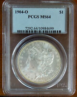 1904-O MORGAN SILVER DOLLAR PCGS MINT STATE 64 84699
