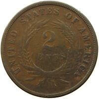 UNITED STATES 2 CENTS 1865   T52 131