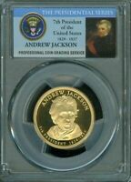 2008-S ANDREW JACKSON $1 PCGS PR69DCAM PROOF COIN IN HIGH GRADE