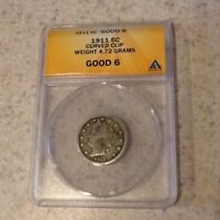 1911 LIBERTY NICKEL ANACS G6