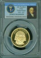 2007-S JAMES MADISON ONE DOLLAR PCGS PR69DCAM PROOF COIN IN HIGH GRADE