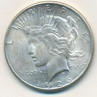 1926-S PEACE SILVER DOLLAR-BEAUTIFUL UNCIRCULATED PEACE DOLLAR-SHIPS FREE INV:5