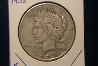 1935   PEACE SILVER DOLLAR  PHILADELPHIA  GREAT COIN