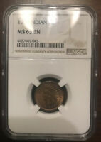 1909 INDIAN HEAD CENT MINT STATE 63 BN NGC