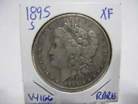 DATE 1895 S  MORGAN DOLLAR   EEXTRA FINE  ESTATE COIN  W166