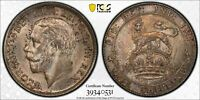1919 GREAT BRITAIN SHILLING PCGS MS64