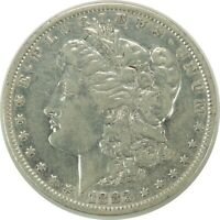 1883-P $1 MORGAN SILVER DOLLAR  VF DETAILS - POLISHED / CLEANED  101420
