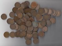 1911 1920 CANADA 1 CENT COINS LOT OF 100