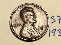 1937-S LINCOLN WHEAT CENT PENNY 5785K