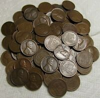 2 ROLLS OF 1919 D DENVER LINCOLN WHEAT CENTS FROM PENNY COLL