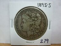 1895-S MORGAN SILVER DOLLAR