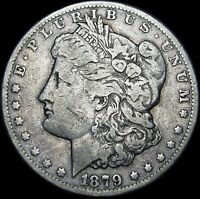 1879-CC CLEAR MORGAN DOLLAR SILVER ----   ---- G871