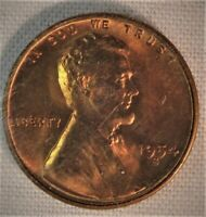 1954 S LINCOLN CENT              222
