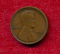1912-S LINCOLN WHEAT CENT CHOICE FINE SHIPS FREE