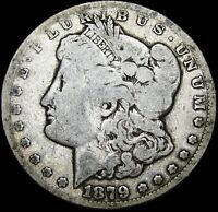 1879-CC MORGAN DOLLAR SILVER ----  DATE SEMI KEY DATE ---- BBH101BB